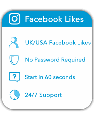 Buy Facebook Likes UK